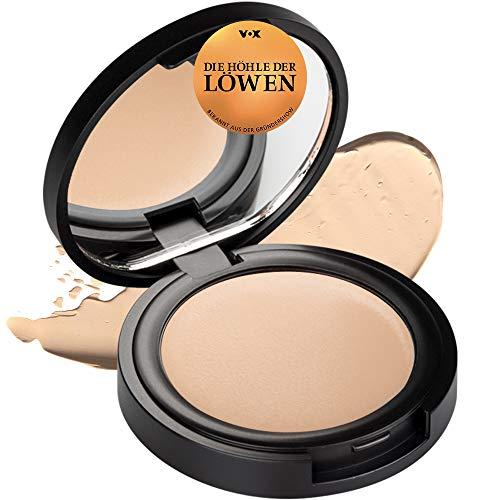 NUI Cosmetics Natural Cream Concealer KAMAKA - Naturkosmetik vegan natürlich glutenfrei - Abdeckcreme für sehr helle und helle Hauttöne für einen makellosen ebenmäßigen Teint