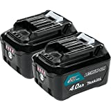 Makita BL1041B-2 12V max CXT Lithium-Ion 4.0 Amp Battery (2 Pack)