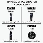 ZEUS Everyday Beard Care Kit – USA MADE – Beard Shampoo/Conditioner, Refined Beard Oil & Balm - Moisturizing & Smooth… 7