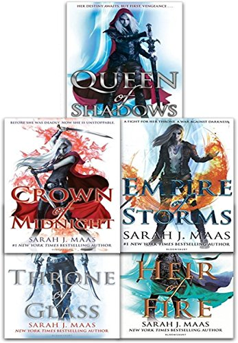 Throne Of Glass Series Collection 5…