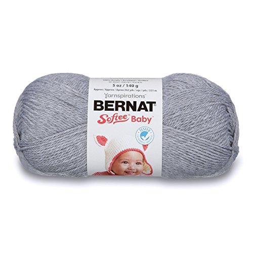 Bernat Softee Baby Yarn, 5 oz, Flannel, 1 Ball