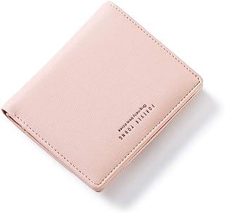 AnnabelZ Women Wallets Small Bifold Leather Pocket Wallet Ladies Mini Short Purse