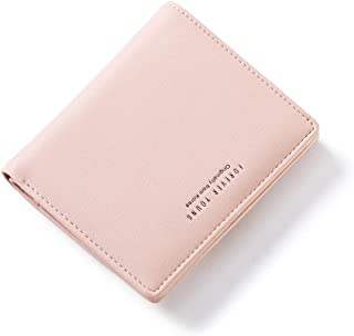 AnnabelZ Women Wallets Small Bifold Leather Pocket Wallet Ladies Mini Short Purse
