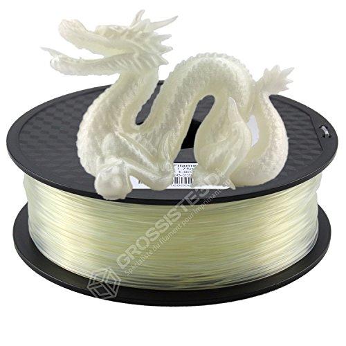 3D 3D Printer ABS FDM Filament and 3D Pen 1.75 mm 1 kg Transparent