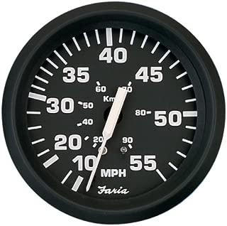 Faria 32810 Speedometer-55 MPH,  Euro