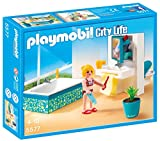PLAYMOBIL Mansión Moderna Playset baño (5577)