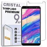 REY Protector de Pantalla para UMIDIGI A1 Pro, Cristal Vidrio Templado Premium