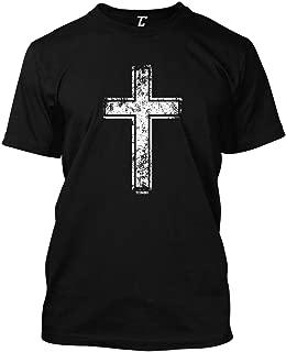 Distressed Cross - Religious Christian Christ Men's T-Shirt