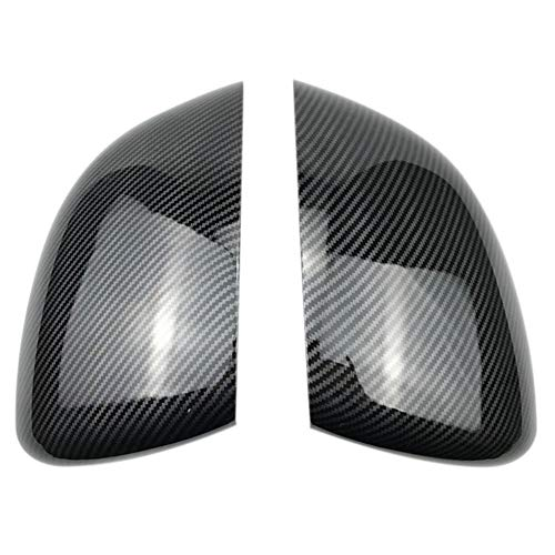 MDHANBK 2 Piezas de Cubiertas de Espejo retrovisor de Coche, Tapas Superiores de Espejos retrovisores, para Mercedes Benz A180 A200 A220 A250 2019 Accesorios