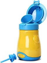 Upgrade Baby Boy Portable Potty Emergency Urinal Toilet for Car Travel and Camping, Child Kid Toddler Pee Training Cup