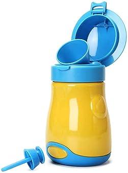 MICHAELA BLAKE Urinario Port/átil Coche Orina De Dibujos Animados Bucket Portable Tocador Insignificante Potties Urinario 3 Caracteres Cubiertas para Urinarios para Los Ni/ños del Beb/é De Los Ni/ños