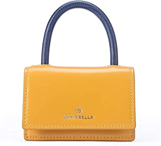 CHRISBELLA Lightweight Fashion Satchel Handbags for Women Mini Clutch Bag Crossbody Handbags for Girls with Chain Strap