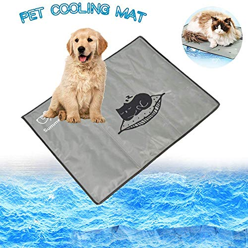 MKLI - Cojín para hielo de verano para animales domésticos, gel para animales domésticos, refrigeración para animales domésticos, resistente al desgaste, para dormir más cómodamente en verano