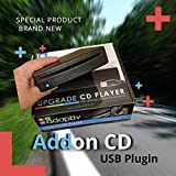 Connects2 Adv-Usbcd Plug and Play USB CD Player for Mechless Stereos