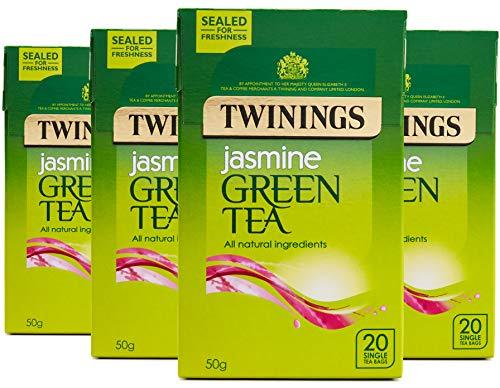 Twinings Green Tea Jasmine 20 Teabags (Pack of 8, 160 Teabags)