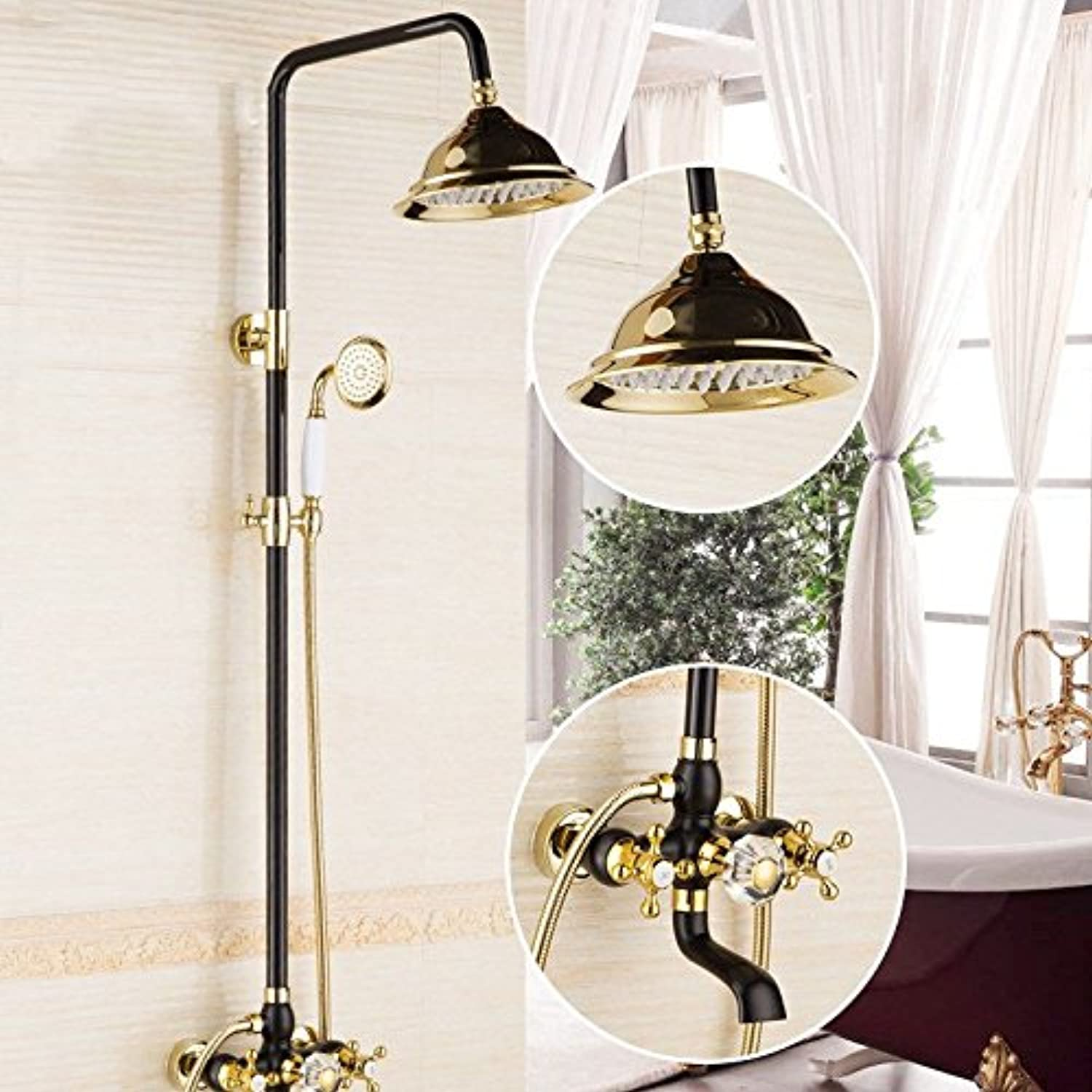 S.Twl.E Sink Mixer Tap Faucet Bathroom Kitchen Basin Tap Leakproof Save Water brass gold pink gold shower Faucet pressure with lifting shower B