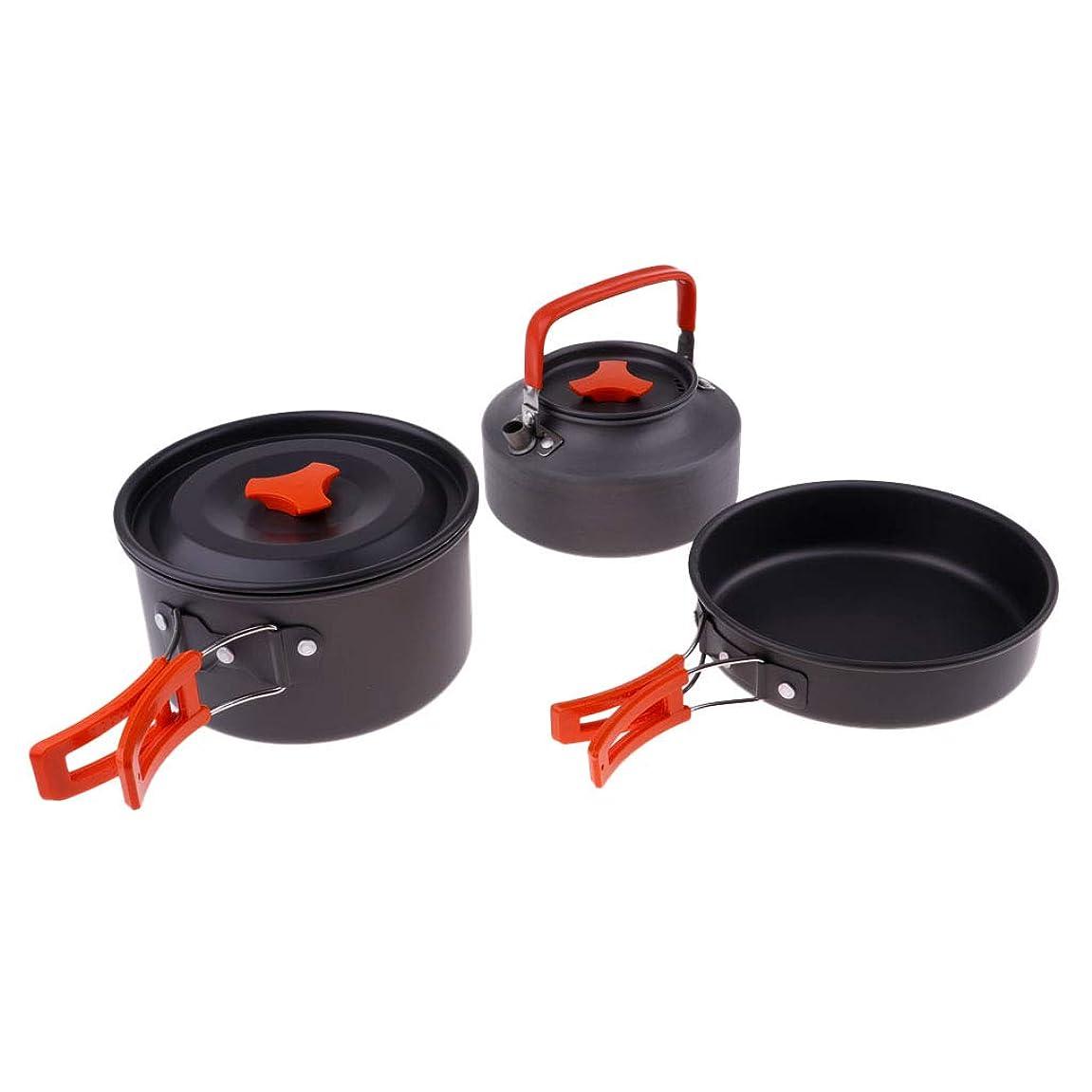 召喚する原油知人Perfeclan 折りたたみ 調理器具セット 鍋 フライパン 水ケトル アウトドアグッズ