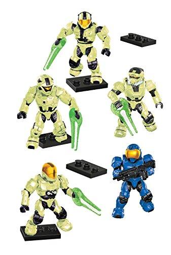 Mega Bloks 97199 - Halo Last Man Standing Zombie Pack, Konstruktionsspielzeug