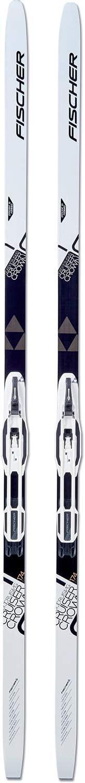 FISCHER Langlaufskier Ultralite Crown inkl Bindung Control Step-In IFP