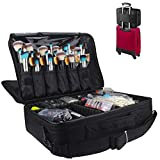 MONSTINA Cosmetic Bags 3 Layer Cosmetic Organizer Makeup Case Beauty...