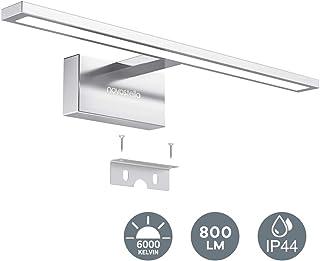 10W Lámpara Luz Espejo Baño LED 800lm, 400x125x95mm