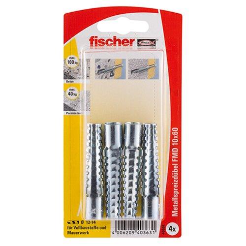 Fischer Metallspreizdübel FMD 10 x 60 K SB-Karte