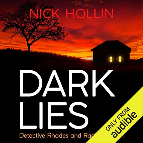 Dark Lies audiobook cover art