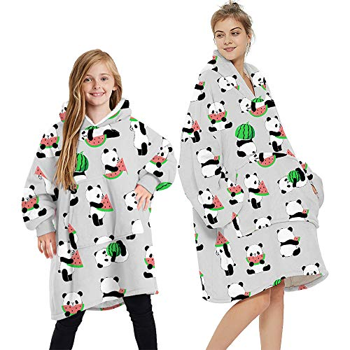 Wearable Blanke Hoodie Warm Oversized Hoodies Blanket...