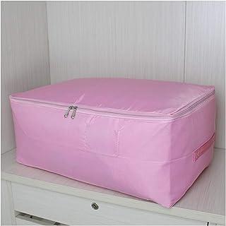 CGS2 Sac de rangement en coton avec fermeture éclair, pour vêtements et courtepointes, idéal pour ranger les vêtements L-5...