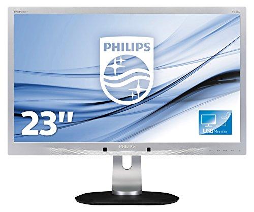 Philips 231P4QUPES/00 58,4 cm (23 inch) monitor (VGA, USB, 1920 x 1080, 60 Hz, Pivot) zilver