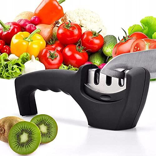 afilador de cuchillos manual para tu casa Afilador...