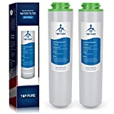 FilterPro Dual Flow Drinking Water Replacement Filters Compatible with GE FQK2J (2 Pack)
