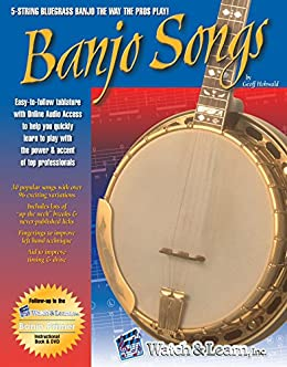 Banjo Songs Book With Audio Access by [Geoff Hohwald]