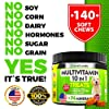 10 In 1 Dog Multivitamin Treats - Essential Dog Vitamins for Hip & Joint Support + Digestion, Skin & Coat, Heart, Immune Health | With Hemp Oil, Kona Berry, Green Lipped Mussel - 170 Soft Chews #1