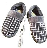 HHY-X Zapatillas Calefactoras Zapato USB Tapón Calentador De Pie Zapatos...