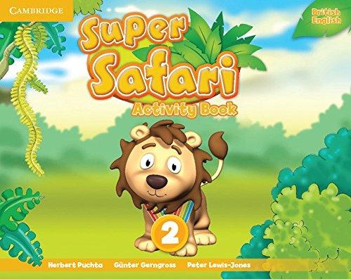 Super Safari Level 2 Activity Book (Super Minds) - 9781107476899
