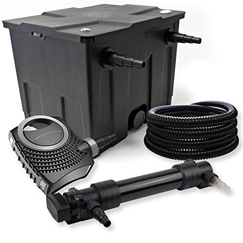 SunSun Kit de Filtration de Bassin 12000l 36W UVC 6. Stérilisateur NEO8000 70W Pompe Tuyau