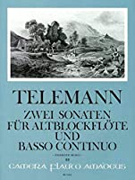 """TELEMANN - Sonatas (2) en Re menor y Do Mayor """"Esercisi Musicali"""" para Flauta de Pico Alto y Piano"""