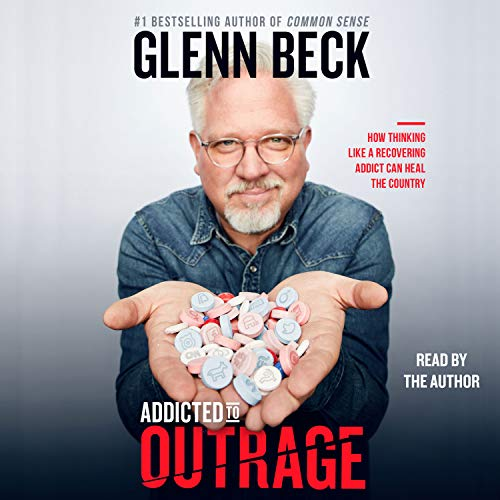 Addicted to Outrage audiobook cover art