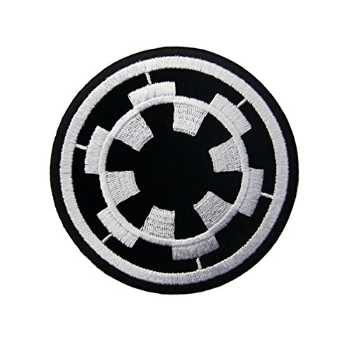CasStar Aufnaeher Aufbuegler Patches Applikation Buegelbild Imperial Target Star Wars