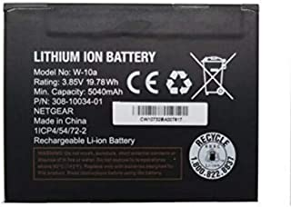 W-10A Battery for Telstra Nighthawk M1 MR1100 Mobile Broadband Router