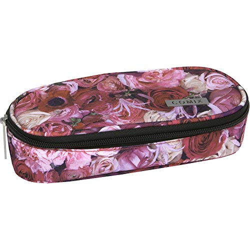 Comix Astuccio Ovale Organizzato All Over Rosa