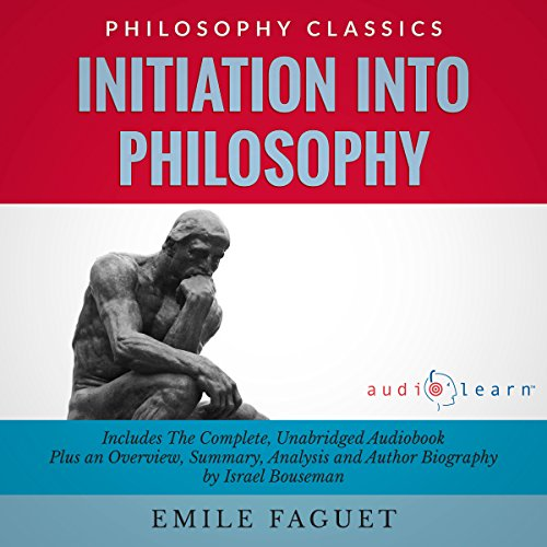 Initiation into Philosophy  audiobook cover art