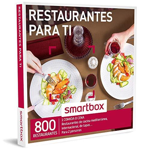 Smartbox Restaurantes para Ti, 800 Restaurantes de Cocina Mediterránea, Internacional y de Tapas