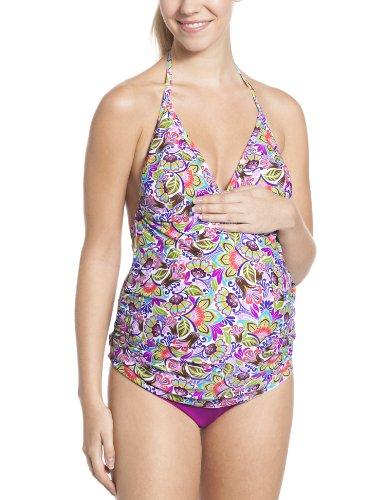 Anita Maternity Schwangerschafts-Tankini Kamaka Maternité, Multicolore (Original), 85C (Taille Fabricant: 36) Femme