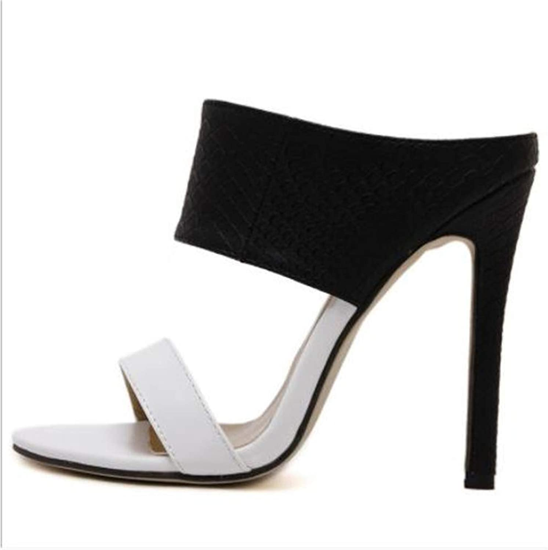 F1rst Rate Women's Heeled Sandals High Heel Peep Toe Slingback Women's Sandals