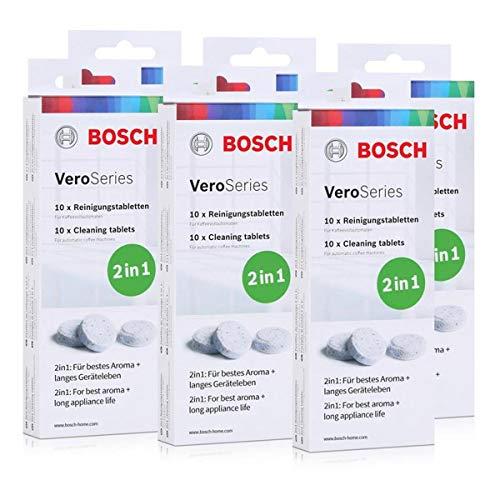 Bosch VeroSeries TCZ8001 Reinigungstabletten 2in1-10 Tabletten (6er Pack)