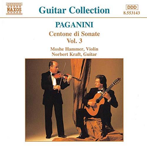 Paganini Gitarren- und Violinsonate Vol 3