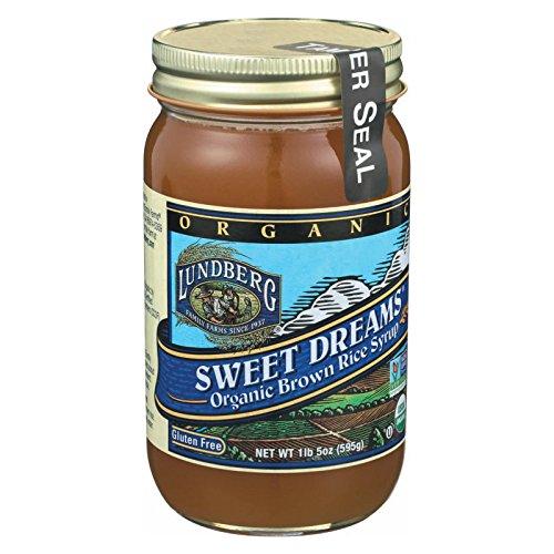 Lundberg Farms Organic Sweet Dreams Brown Rice Syrup, 21 Ounce - 12 per case.