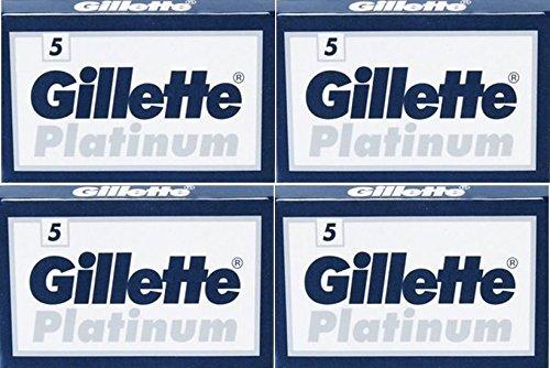 20 Cuchillas De Afeitar Gillẹtte Platinum